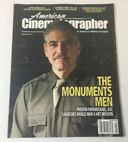 AMERICAN CINEMATOGRAPHER February 2014~ MONUMENTS MEN,DEAN CUNDEY
