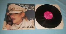 Rettore Kamikaze Rock'n Roll Suicide Carrere maxi 45t press 1982 made in France