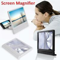 3D Mobile Phone Screen Magnifier HD Video Amplifier Smartphone Stand Enlarge BY3
