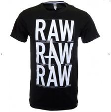 New Men's G-Star Raw Oxlex Short Sleeve Tee T Shirt Black XXL 2XL Round Neck