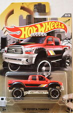 HOT WHEELS RAD TRUCK SERIES 2016 '10 TOYOTA TUNDRA RED 1:64