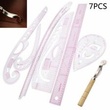7X Clothing Curve Metrics Ruler Tool for Fashion Designer Tailor Pattern Making
