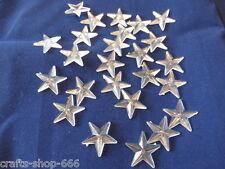 25 Sterne  Streuelemente Streudeko  Tischdeko Acryl   neu ca.: 22 mm