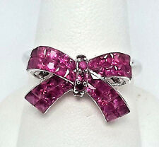 18K Ruby Bow Ring  r9347