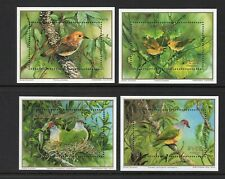 Cook Islands 1989 Endangered Birds sheets UM (MNH)