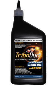 TriboDyn 75W-90 Limited Slip Full Synthetic with Ceramic Coating Gear Oil