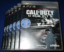 Lot of 6 Call of Duty: Ghosts Sony PlayStation 3 *Factory Sealed *Free Shipping!