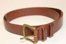 Ralph Lauren Polo 405075757-213 Mens 34 36 38 Brown Leather Dress Belt