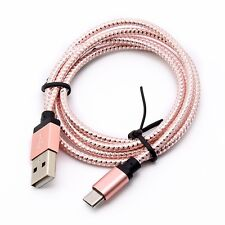 Lot 6ft Micro USB Fast Charger Data Sync Cable Braided Cord for Samsung Android