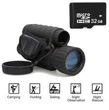 WG-50 720P HD Infrared Night Vision IR Monocular Telescope 6x50 Record Video+32G