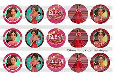 15-1in. Precut Bottle Cap Images Disney Princess ELENA OF AVALOR