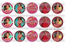 15-1in. Precut Bottle Cap Images Disney Princess ELENA OF AVALOR