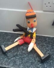 PINOCCHIO WOODEN STRING PUPPET 46 CMS. PLUS STRING ETC.