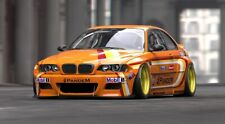 BMW 3 E46 COUPE M3 3.2 STYLE PANDEM PDM FULL WIDE BODY KIT LOOK