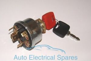 Lucas type 36614 128SA ignition switch for MASSEY FERGUSON