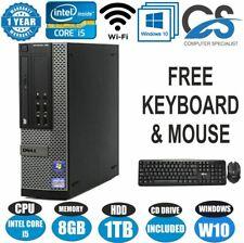 Dell OptiPlex Ordinateur de Bureau Tour PC Intel Core i5 2300 @ 2.80Ghz 8GB RAM