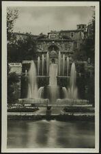 cartolina TIVOLI villa d'este-fontana dell'organo