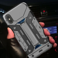 Heavy Duty Tough Protection Armor Case Kick-Stand For iPhone XR X XS Max 8 7Plus
