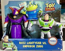 Disney Pixar Toy Story BUZZ LIGHTYEAR vs EMPEROR ZURG ALIEN NEW 2019