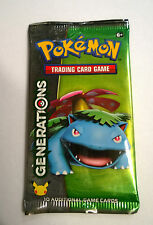 Pokemon Generations Bulbassaur Booster Pack new sealed