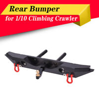 Metal Rear Bumper + LED Lights for 1/10 TRX-4 Rc4wd Axial Scx10 RC Crawler Car