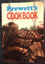 PREWETT'S COOK BOOK Wholefood Health Recipes Paperback Book RARE 1970 VGC