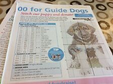 Guide Dog Puppy Cross stitch chart Only (448)