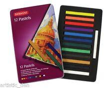 Derwent Pastel Blocks 12 Tin Set  Genuine Derwent Pastel Blocks 12 set