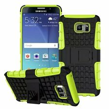 Green Strong Tradesman Dual Layer Tough Case Cover for Samsung Galaxy Note 5