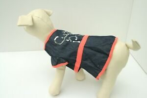Martha Stewart Dog Denim Blue & Coral Dress  Cutie Pie -Small