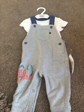 Marks and Spencer Baby Boy Dungarees 3-6 mois