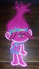Poppy (Trolls) Embroidered Iron-On Patch 5x7