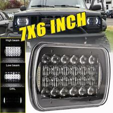 "240W 7x6"" CREE LED Headlight Halo DRL For Jeep Wrangler YJ Cherokee XJ Chevrolet"