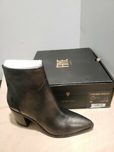 FRYE FLYNN SHORT INSIDE ZIP PEWTER  9.5M