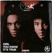 Milli Vanilli Girl You Know It's True 45 RPM Import  France
