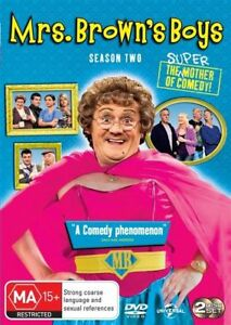 Mrs Browns Boys DVD SEASON 2 - Series Two Second Complete (2 DISC)