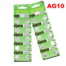 New 10pcs AG10 LR1130 389 LR54 L1131 189 Button Cell Coin Battery Wholesale
