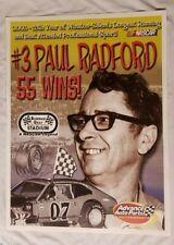 "Nascar Bowman Gray Stadium 55 Wins ""Paul Radford""  24"" x 18"" Poster # 3 of 5"