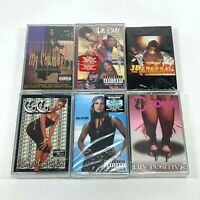 Lot of 6 Cassette Tapes 90's Women Female Rap Hip Hop Da Brat CoCo Olivia [NEW]