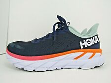 WOMEN'S HOKA ONE CLIFTON 7 size 6.5  ! RUNNING SHOES! WORN LESS THAN 15 MILES!