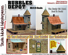SR&RL RUBBLES DEPOT KIT YORKE Scale Model Masterpieces/YORKE On3/On30/1-48 *NEW*
