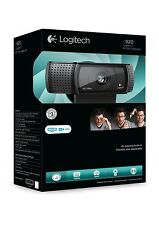 Logitech HD Pro C920 USB Webcam 1080p avec micro PC & Mac, Skype Youtube Facebook nouveau