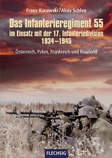 Das Infanterieregiment 55 im Einsatz mit der 17. Infanteriedivision