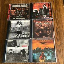 Biohazard 6 CD lot New World Disorder, Urban Discipline 4 more