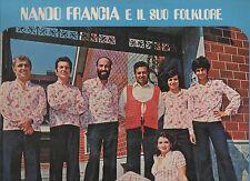 NANDO FRANCIA disco LP 33 giri DAL MONFERRATO nuovo sigillato SEALED
