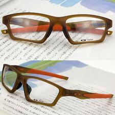 Sport Crosslink SWEEP Eyeglass Eyewear Frames Satin Rootbeer Matter OX8031-0355