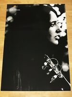 APPLE THINK DIFFERENT POSTER - JOAN BAEZ / 24 x 36 by STEVE JOBS 91 cm x 61 cm