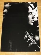 Apple think different affiche-Joan Baez/24 x 36 by steve Jobs 91 cm x 61 CM