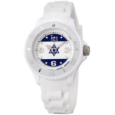 Ice- World Israel Edition Two tone Dial Silicone Strap Unisex Watch WO.IS.S.S.12