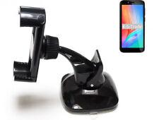 Halterung Scheibe + Armaturenbrett für Elephone U5 Smartphone Halter kompakt Au